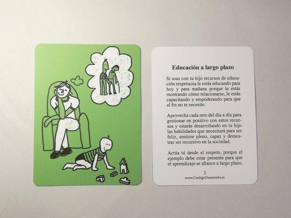 Tarjeta nº 3. Educación a largo plazo.