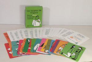 """""""Las tarjetas de Virginia"""" en versión DESCARGABLE pdf"""